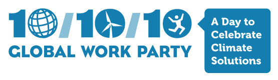 10/10/10 Global Work Party logo