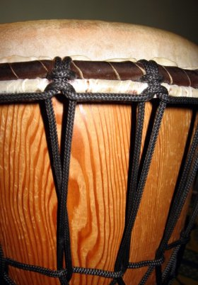 Photo of a djembe
