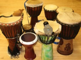 Earth*tones Drum and Dance Circle, March 27, 2011