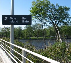 Bate Island, Ottawa. Photo by Mike Buckthought.
