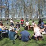 Jam à l'île Bate, le 5 mai 2013