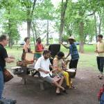 Jam à l'île Bate, le 9 juin 2013. Photo par Mike Buckthought.